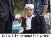 Eid al-Fitr around the world 2012