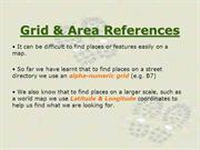 Map: Grid & Area References (Cartography)