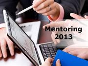Mentoring Powerpoint Content