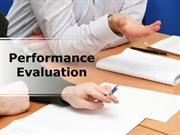 Performance Evaluation PowerPoint Content