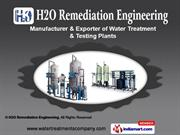 Arsenic Removal Filter by H2O Remediation Engineering, Kolkata