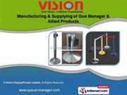 Rope Post by Vision Display Private Limited, Mumbai
