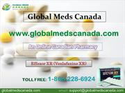 Buy  Effexor XR Online  from Globalmedscanada.com