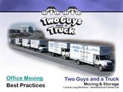 Office Moving - Two-Guys-and-a-Truck