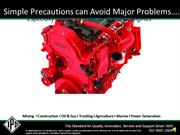 Simple Precautions for ISX Engines