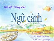 Ngu van 11 tiet 38 Ngu canh