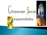 Corporate social responsibility (1)