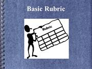 BASIC RUBRIC SLIDESHOW-final