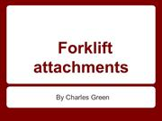 What are the Different Types of Forklift Attachments?
