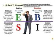 Bro Marvin Pagkanlungan - CASH FLOW QUADRANT of Robert Kiyosaki