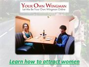 Learn how to attract women