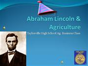 Abraham Lincoln: The Agriculturist