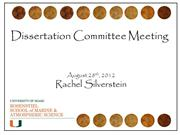 Committee Meeting Aug 2012