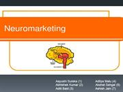 1. Neuro Marketing
