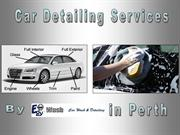 Car Detailing Service in Perth