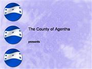 Honduras Flag PowerPoint Template