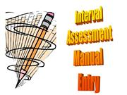 manual entry answers - interval tests