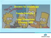 Access to sociology Lec 2 Family diversity 1