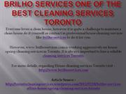 Brilho Services One of the Best Cleaning Services Toronto