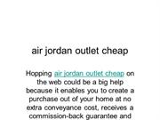 air jordan outlet cheap