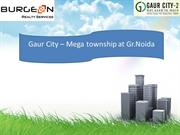Gaur City Noida Extension @ 9953518822, 9718337727 Gaur City Noida