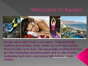 Tourist Destination in Kerala