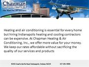 Heating And Air Conditioning Service In Indianapolis : Chapmanheating