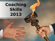 Coaching Skills Powerpoint Content