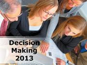 Decision Making Powerpoint Content