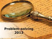 Problem Solving PowerPoint Content