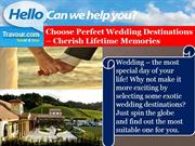 Choose Perfect Wedding Destinations – Cherish Lifetime Memories