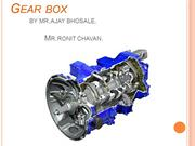 GEAR BOX PPT