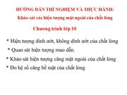 Vl10 T 69 Bai 40 Thuc hanh Do he so cang be mat cua chat long