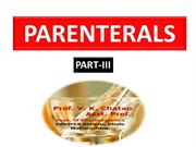 parenteral part-III