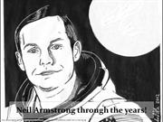 Neil Armstrong through the years!