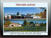 FINLAND - Harvialaschool