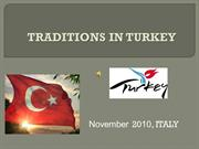 TURKEY - turkish traditions
