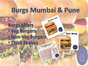 Burgs Mumbai & Burgs Pune is a Decent Gourmet Burger Joint