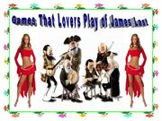 Games That Lovers Play of James Last