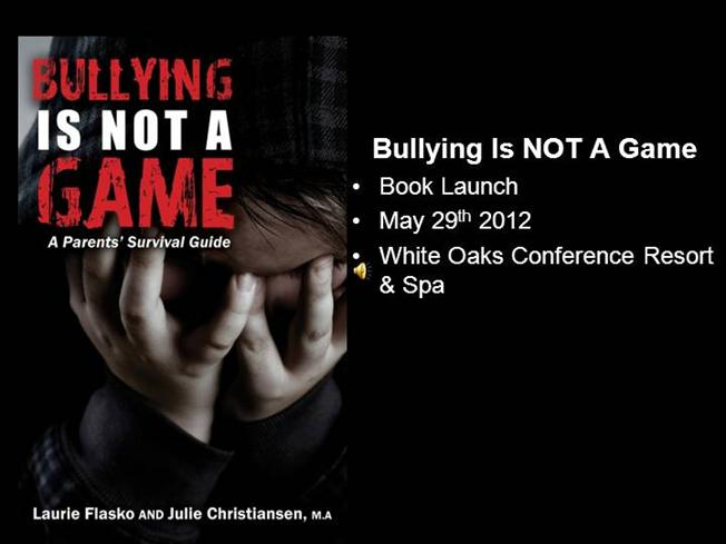 Bullying is not a game book launch august 2012 authorstream toneelgroepblik Images