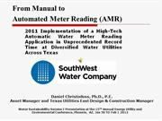 Fastest Automatic Reading Project Implementation in Texas
