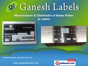 Name Plates and Labels by Ganesh Labels, Pune