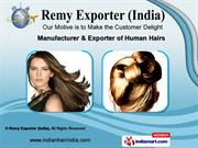 Human Hair Wig by Remy Exporter (India), Chennai
