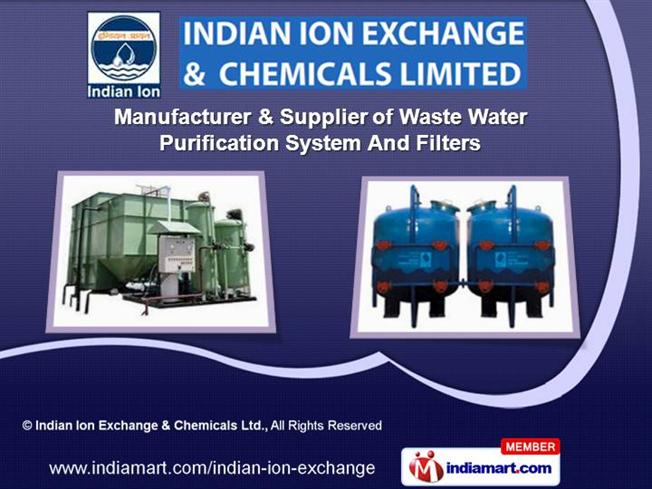 DMF Filter by Indian Ion Exchange & Chemicals Ltd., Ahmedabad |authorSTREAM
