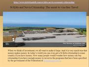 St Kitts and Nevis Citizenship: The secret to visa free Travel