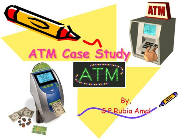 atm case study ooad
