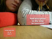 self-discipline - steps to success