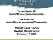 Medical Grand Rounds - Feb 18