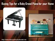 Buying a Baby Grand Piano for your Home