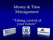Money & Time Management